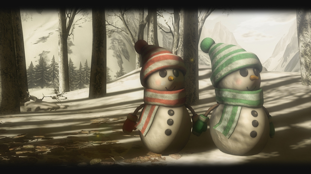 MADPEA - SnowMan and SnowGirl