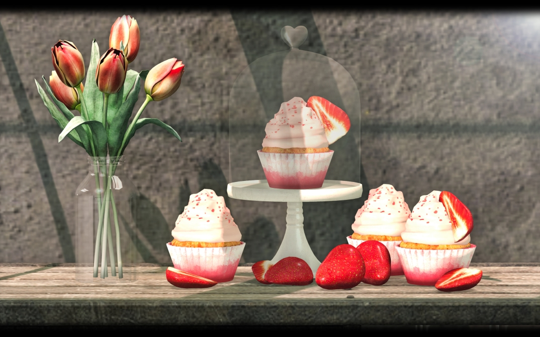 DISORDERLY - Strawberry Cupcakes