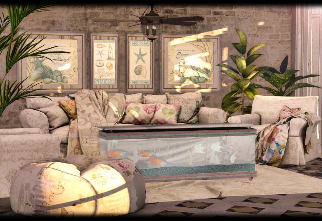 APHRODITE - Blossom Spring - coastal living room