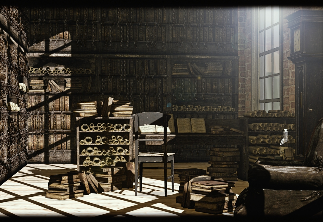 DISORDERLY - The Great Library