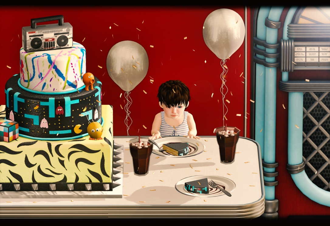 APHRODITE - HipHop 80-90ies Cake