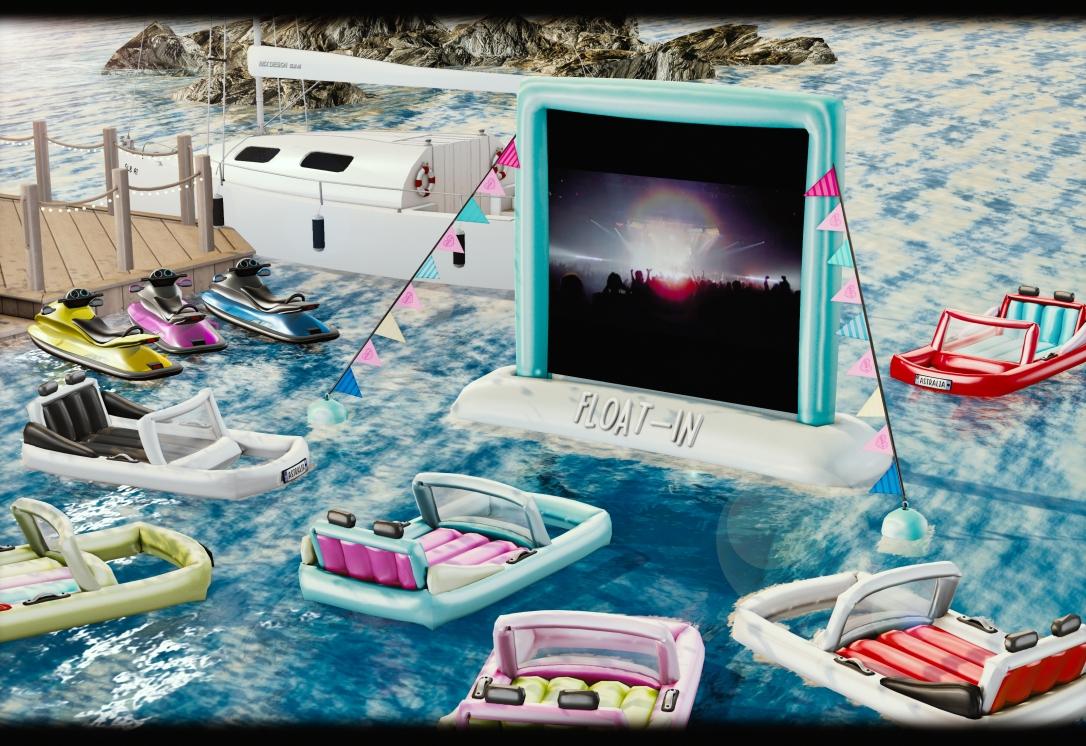 ASTRALIA - Floating Drive In