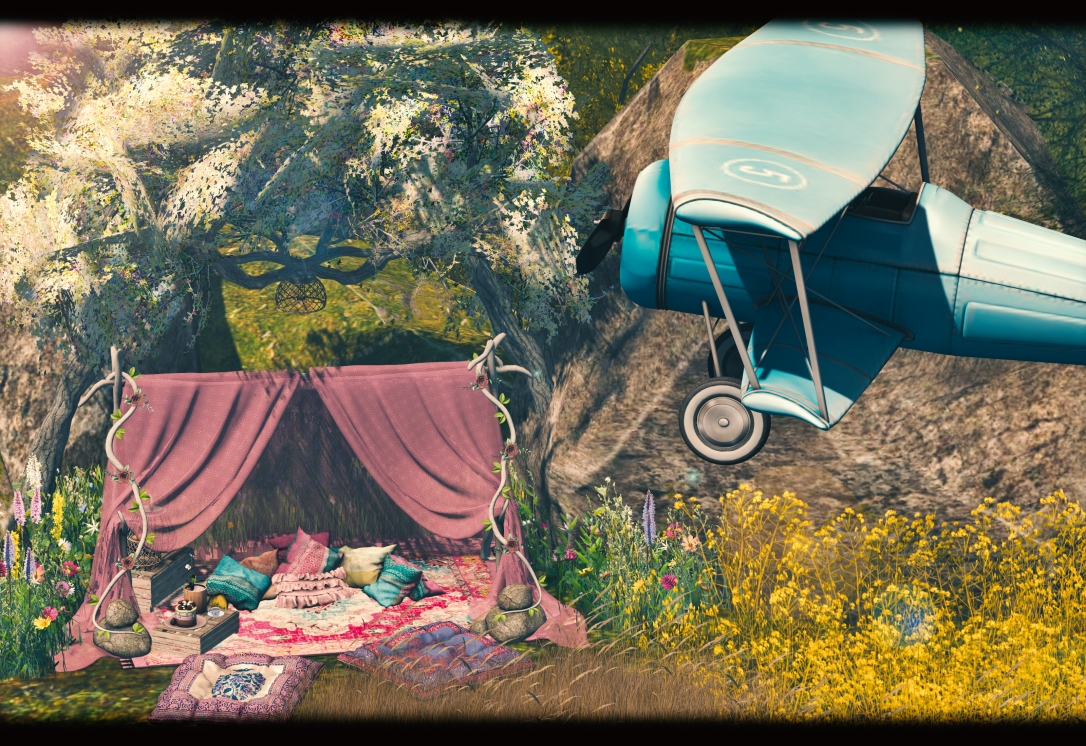 Dreamland Designs - DD Bohemian Romantic Tent