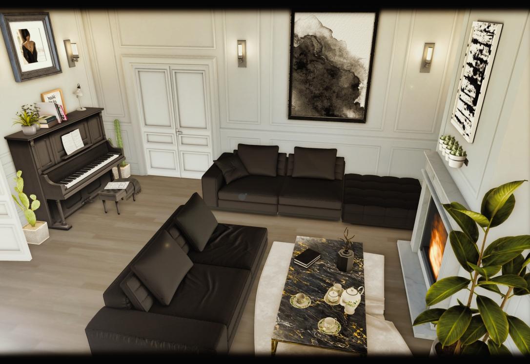 MINIMAL - White Apartment 1