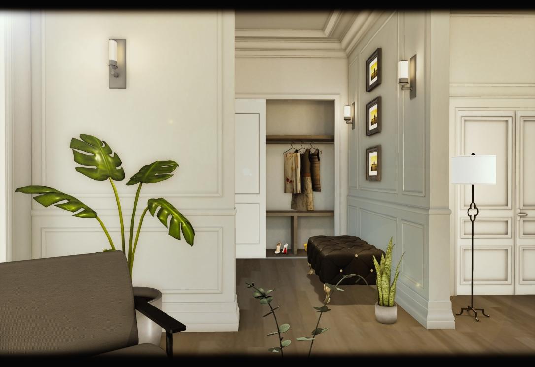 MINIMAL - White Apartment 3