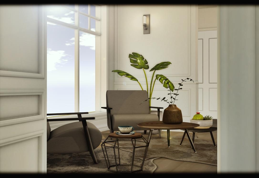MINIMAL - White Apartment 4