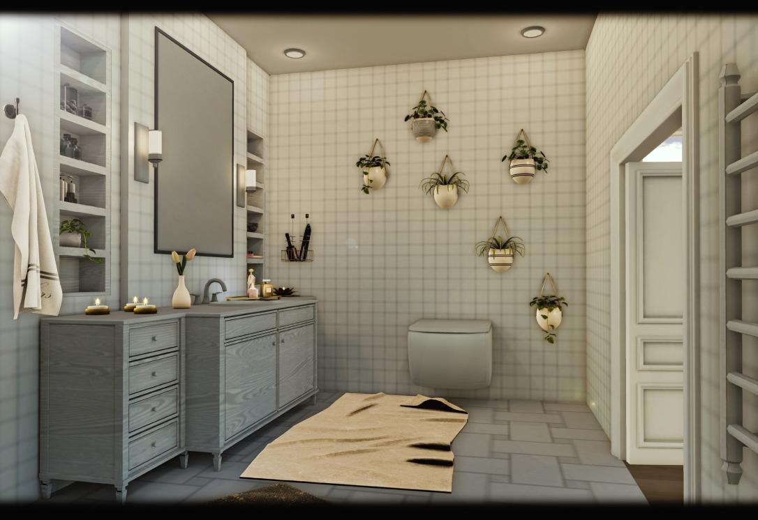 MINIMAL - White Apartment 6