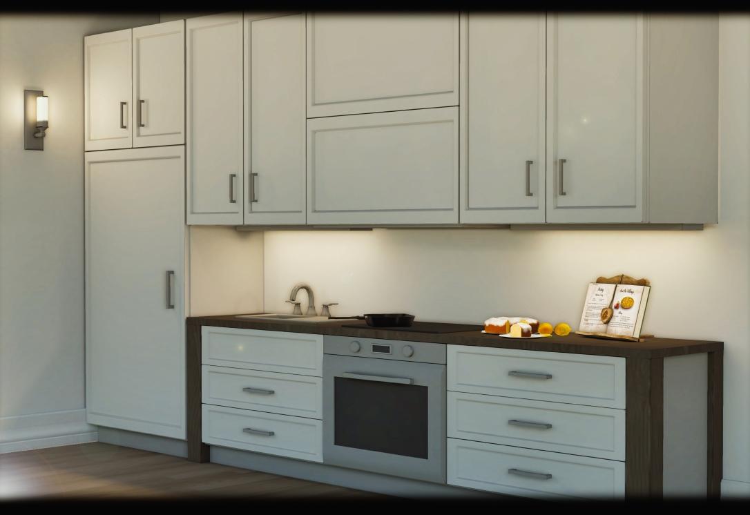 MINIMAL - White Apartment 9
