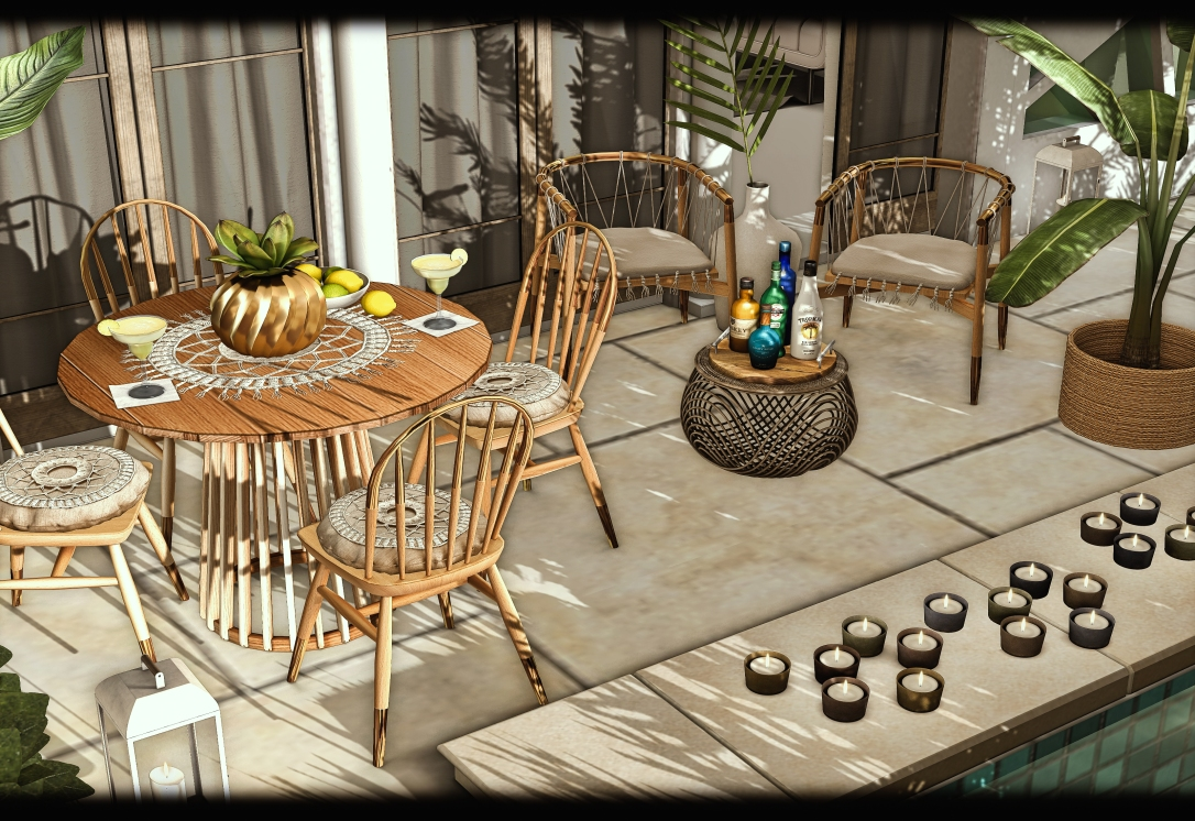 Astralia - Boho Dining Set