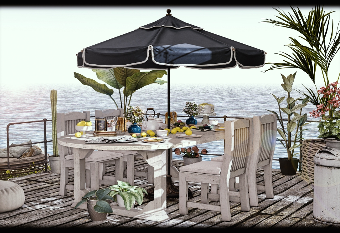 ChiMia - Midsummer Outdoor Dining Set