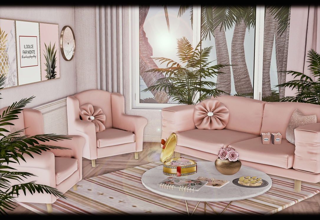 APHRODITE - Enamorarse Living Room Sofa Set
