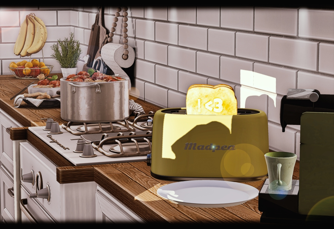 MADPEA - Toaster