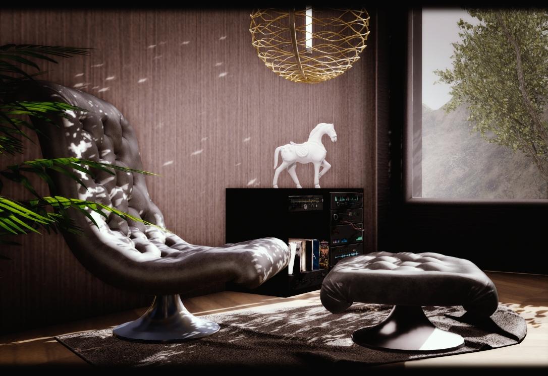 MINIMAL - 007 Suite Skybox - Armchair