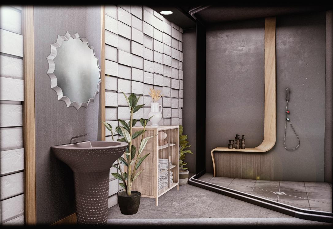 MINIMAL - 007 Suite Skybox - Bathroom