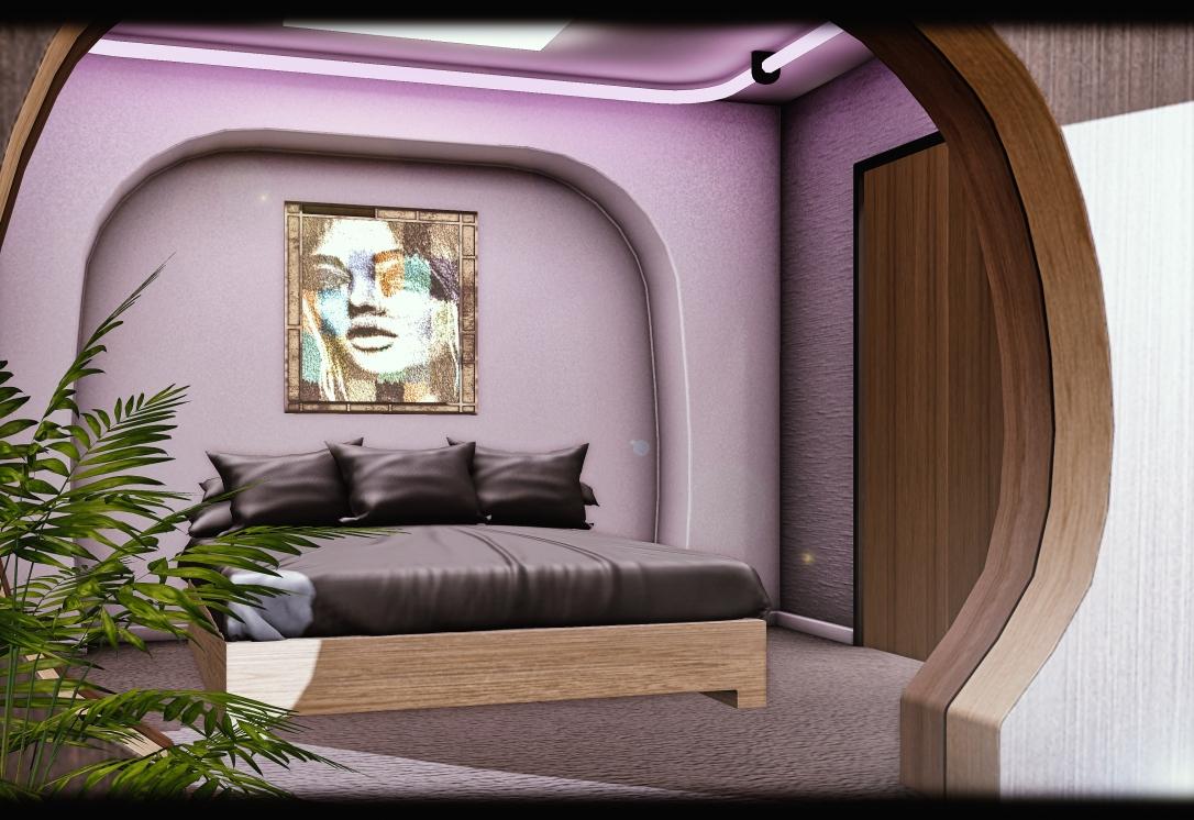MINIMAL - 007 Suite Skybox - Bedroom