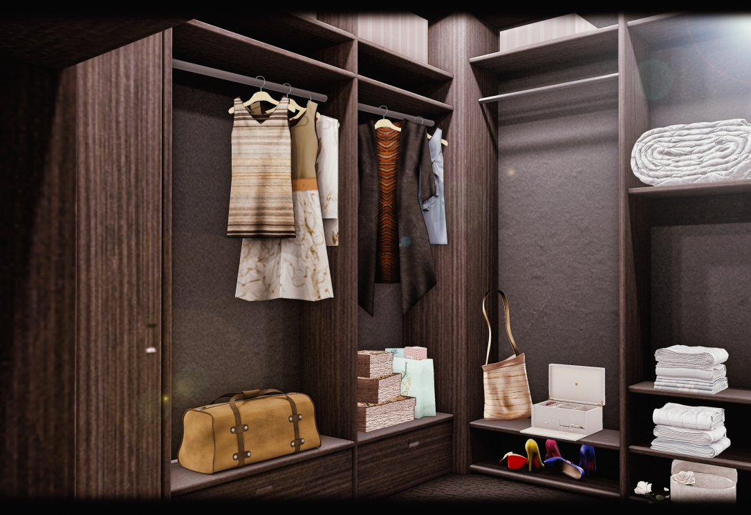 MINIMAL - 007 Suite Skybox - Clothes Room
