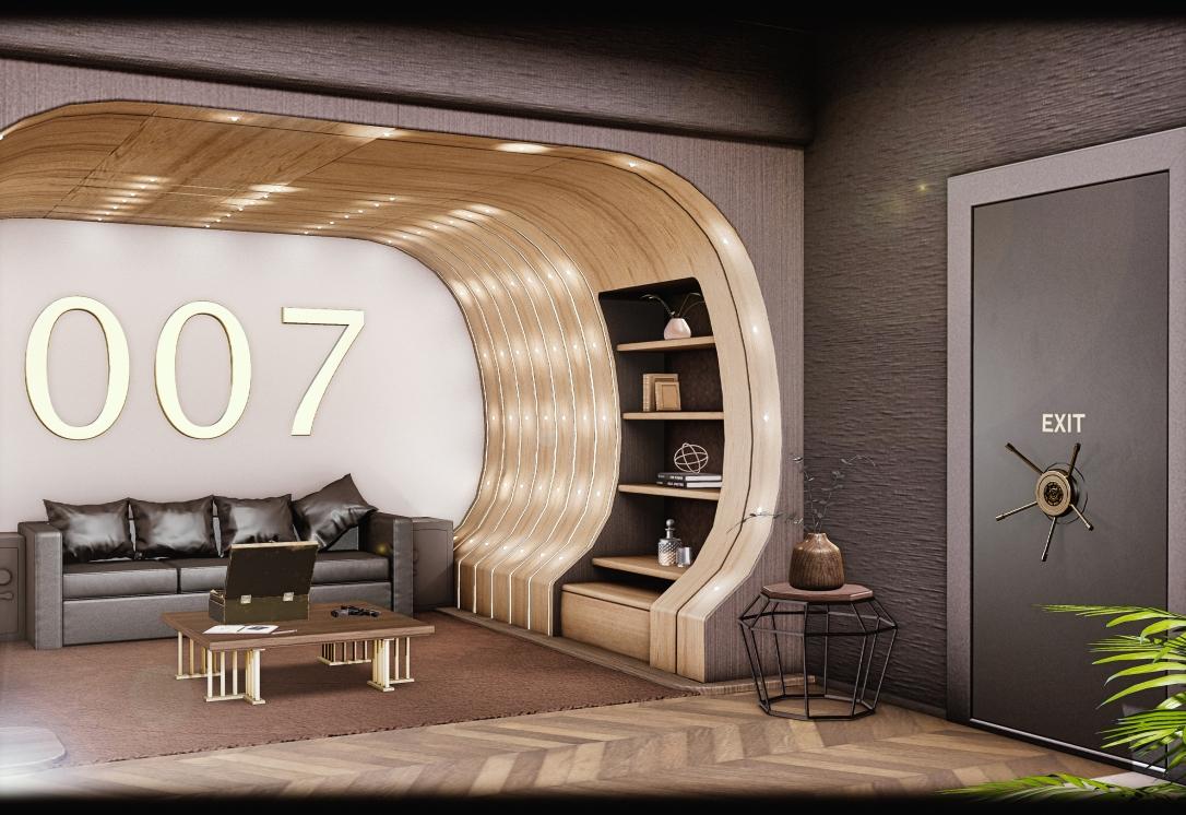 MINIMAL - 007 Suite Skybox - Livingroom