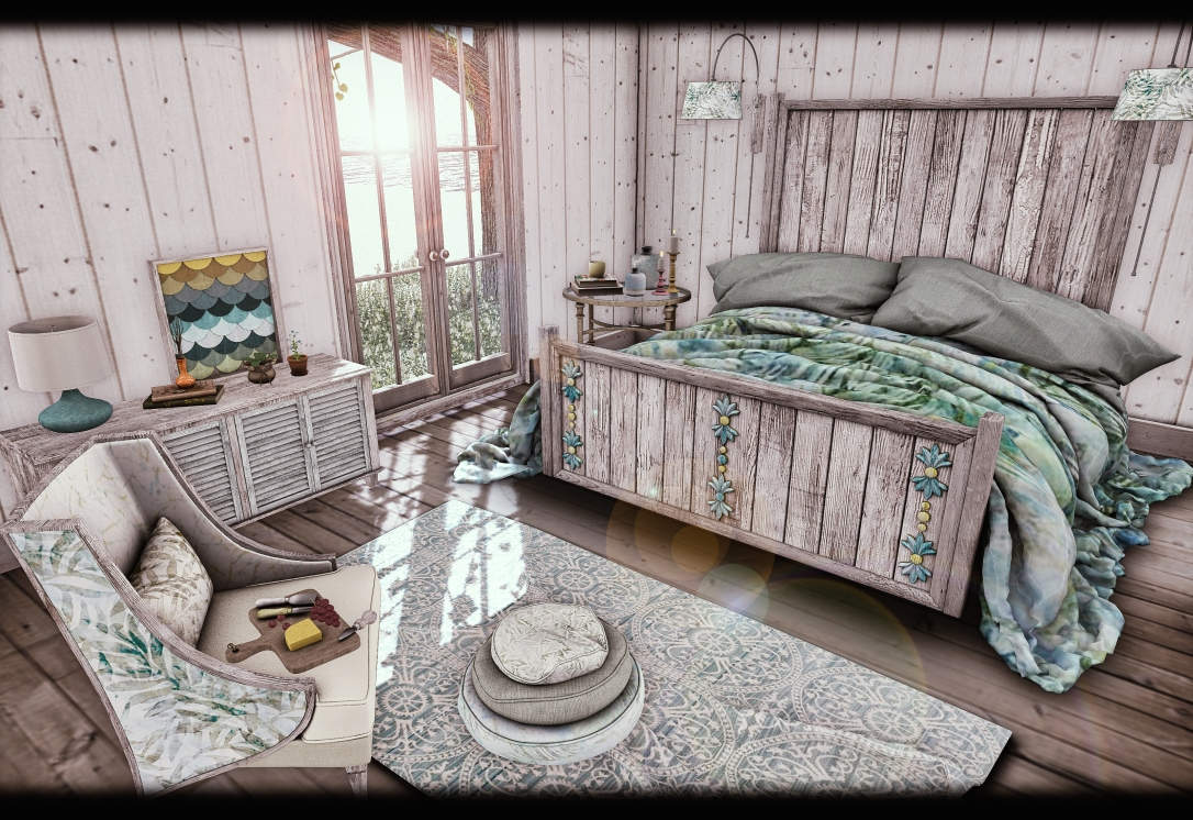 Dreamland Designs - DD Barnes Bay Bedroom Set GACHA