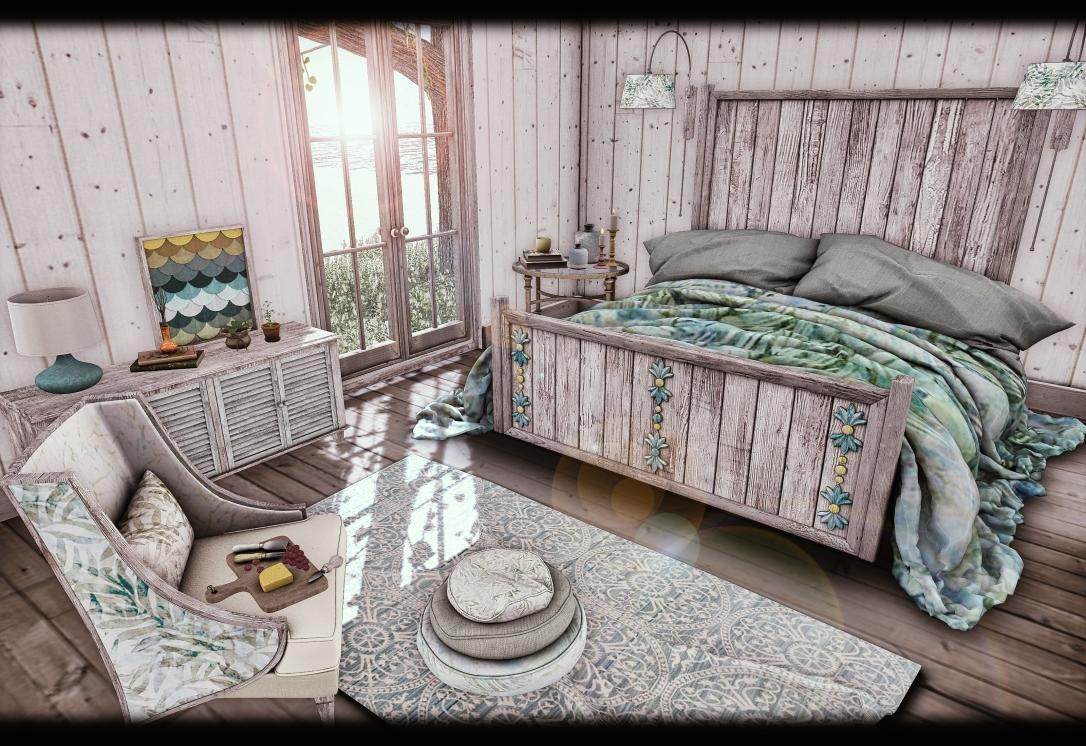 Dreamland Designs - DD Barnes Bay Bedroom Set GACHA