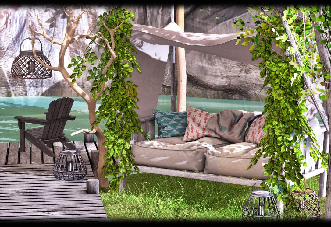 Dreamland Designs - DD Beacon Hill Outdoor Couch