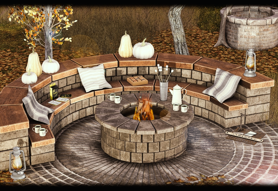 MADPEA - Fire Pit for Happy Weekend