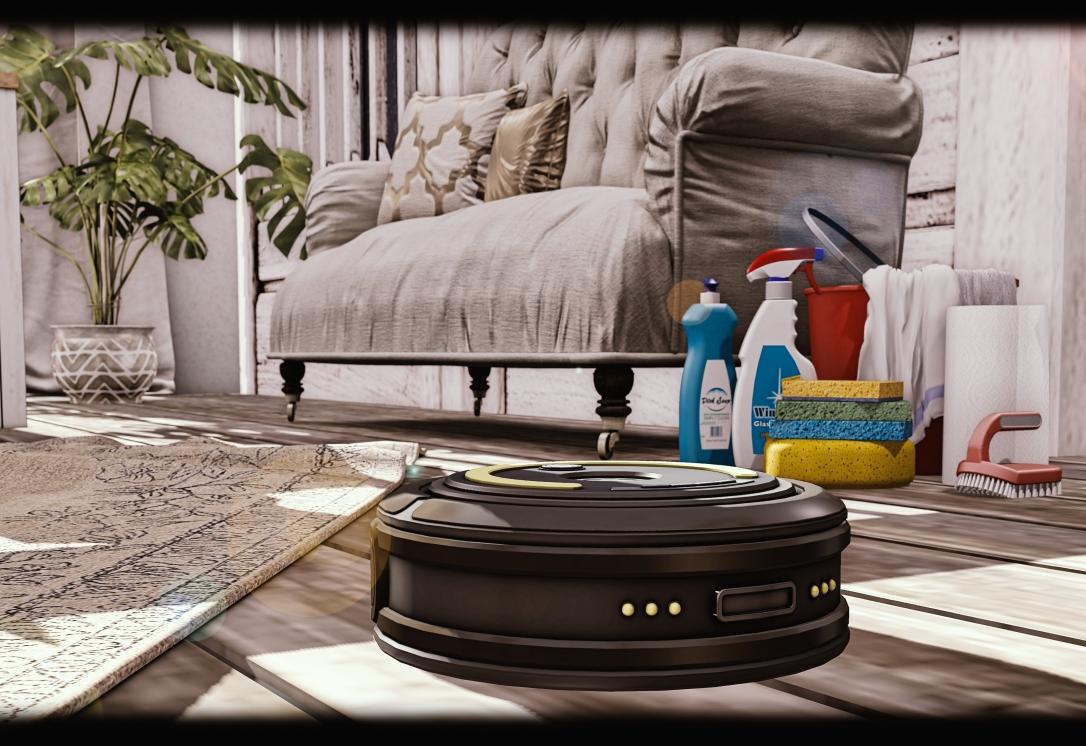 MADPEA - Roaming Robot Vacuum