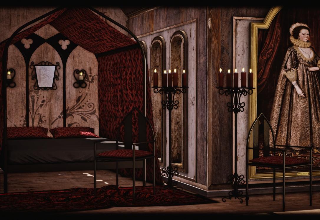 Dreamland Designs - DD Gothica Canopy Bed
