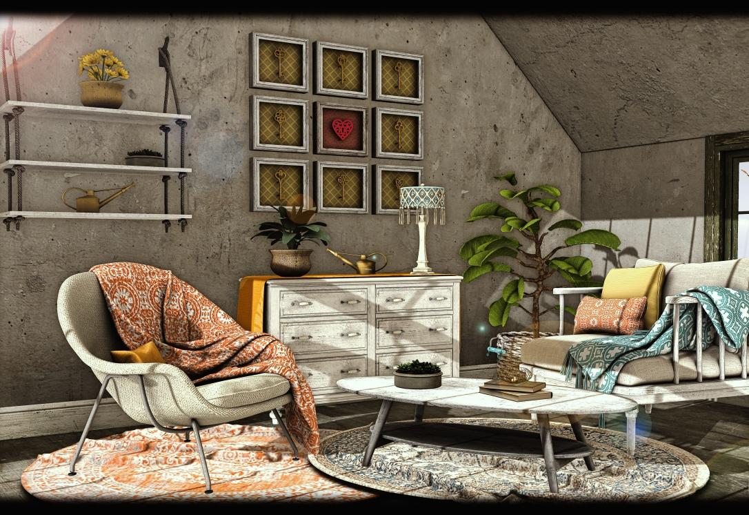 Dreamland Designs - DD Westwood Coastal Chair Set Gacha