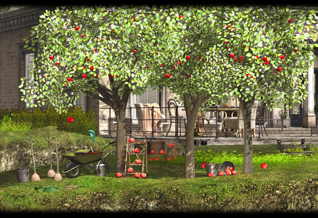 MADPEA - Interactive Apple Tree
