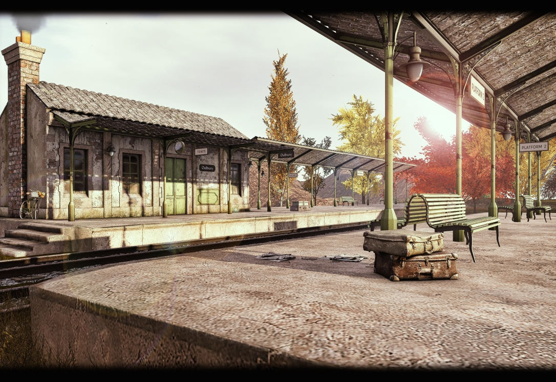 MINIMAL - Oulbury Railway Station Scene