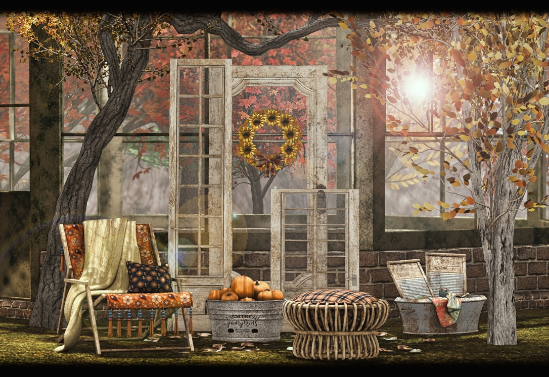 Dreamland Designs - DD Bohemian Autumn Outdoor Set