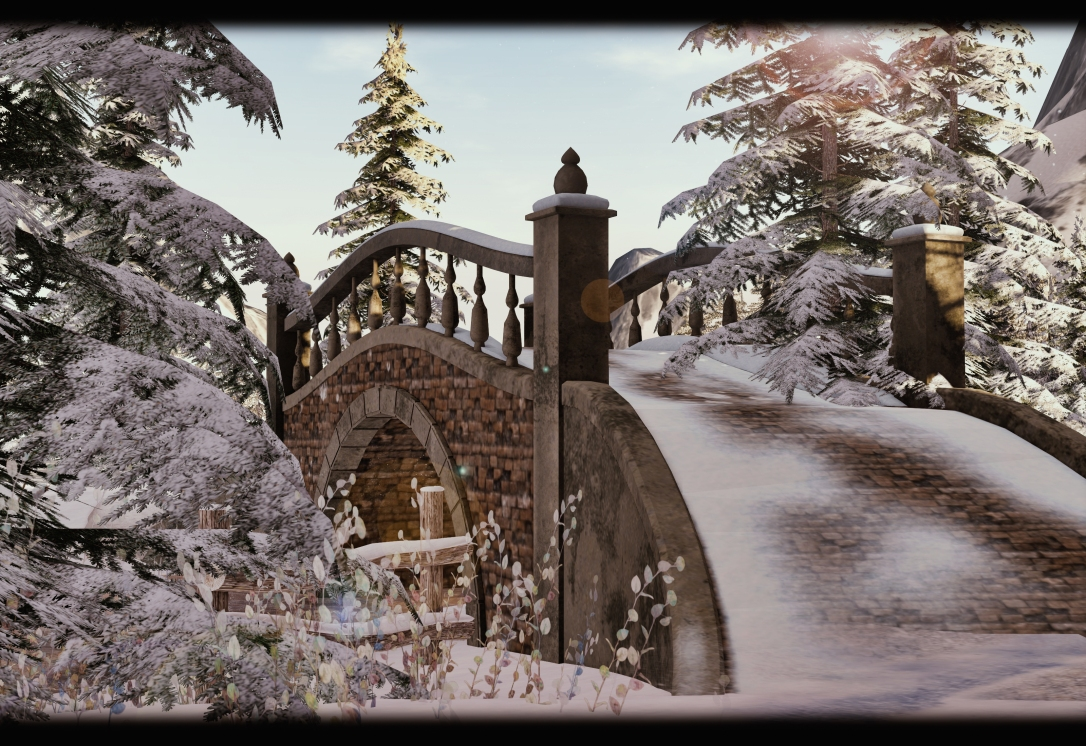 GOOSE - Winter Snowy bridge