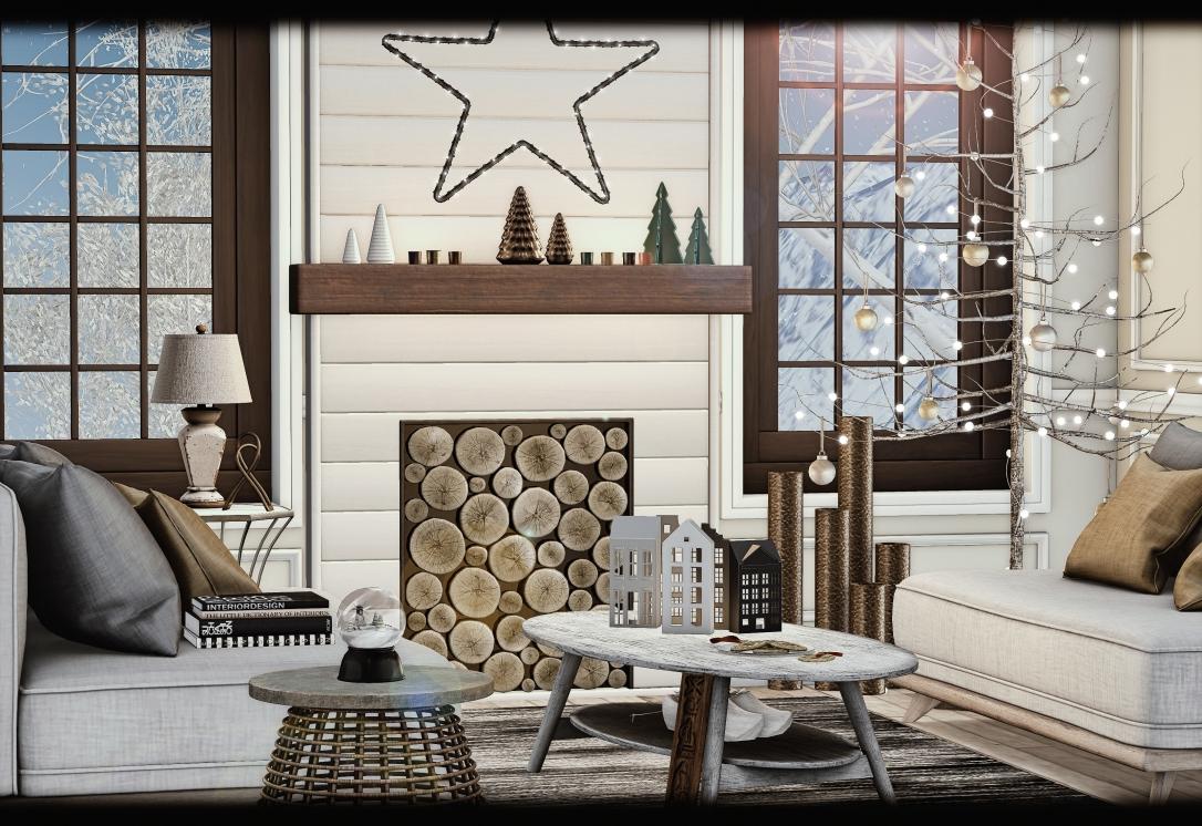 MudHoney - Ember Fireplace & Holiday Decor