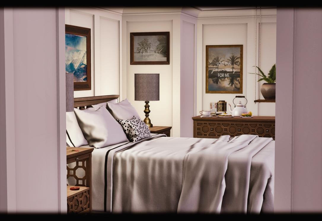 MudHoney - Rosebud Bedroom