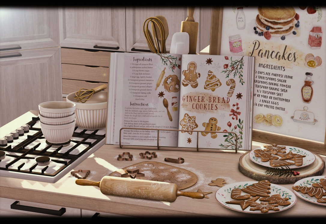 What Next - Illustrated Recipes Frames & Gingerbread Baking Set for FLF