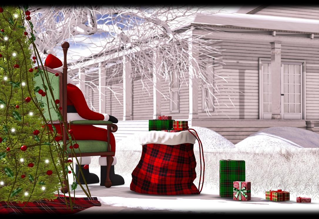 DaD - Santa Claus cozy sack - GROUP GIFT