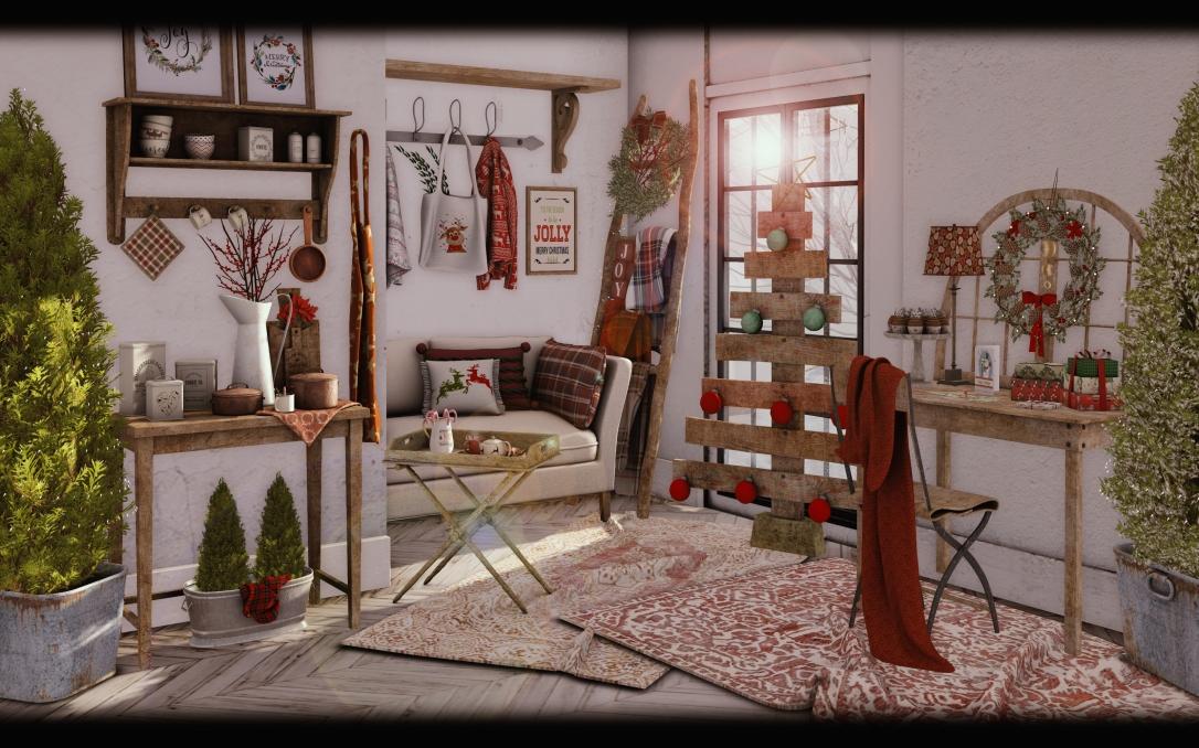 Dreamland Designs - DD Cozy Christmas Nook GACHA