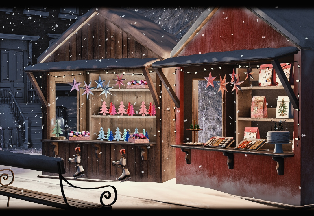 IONIC - Weihnachtsmarkt