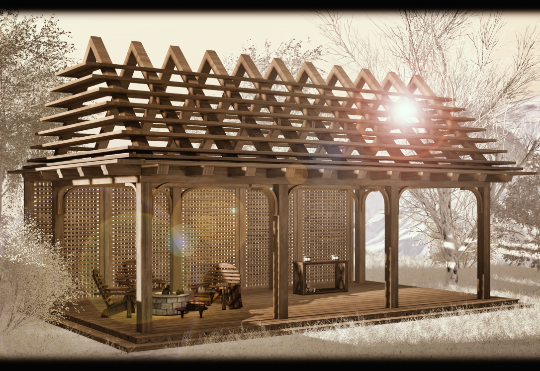 GOOSE - Pergola and privacy screen