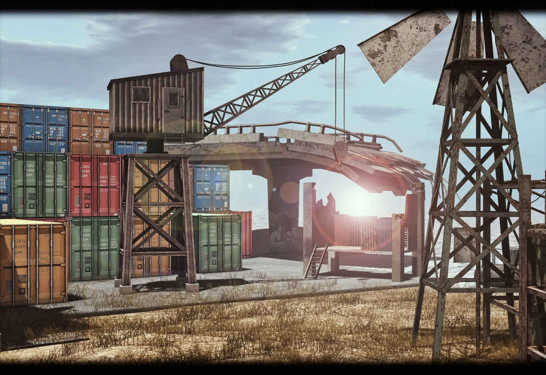 MINIMAL - Container Scene