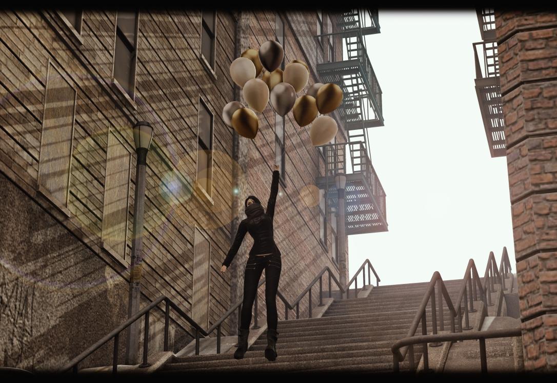 MINIMAL - Joker Stairs Backdrop