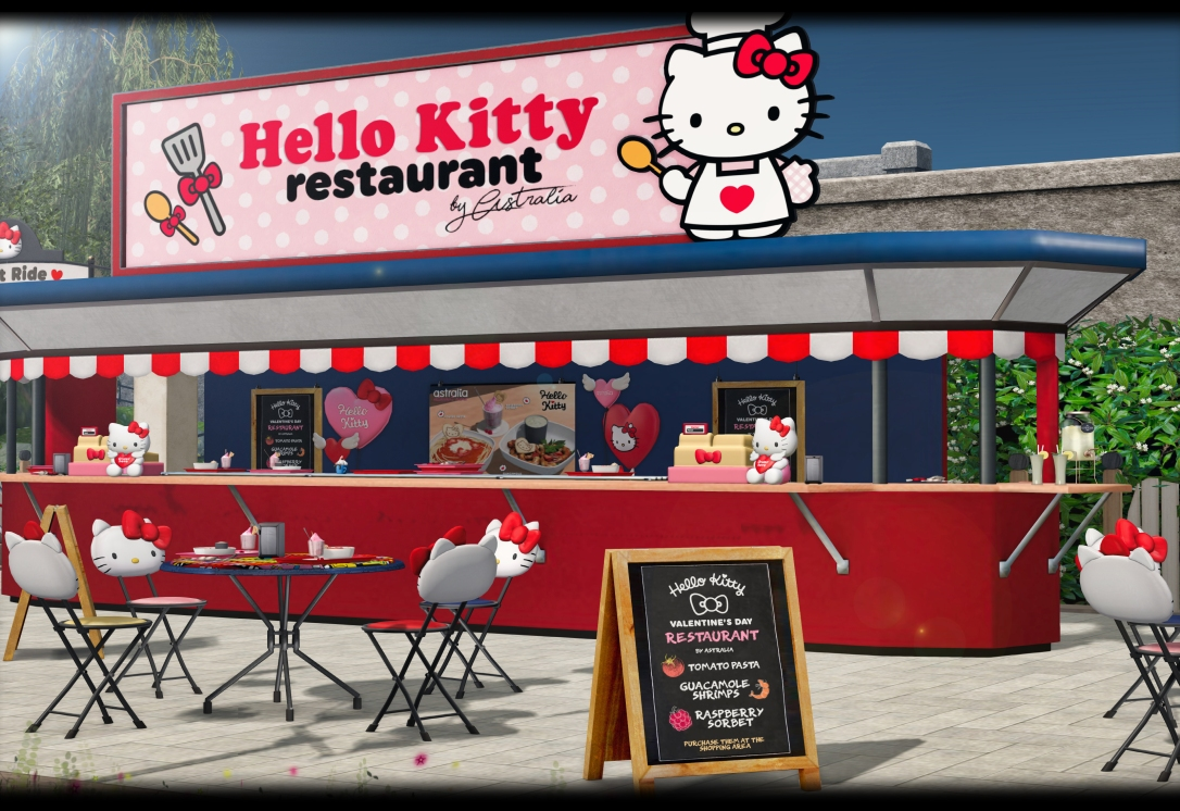 Astralia x Hello Kitty - Restaurant