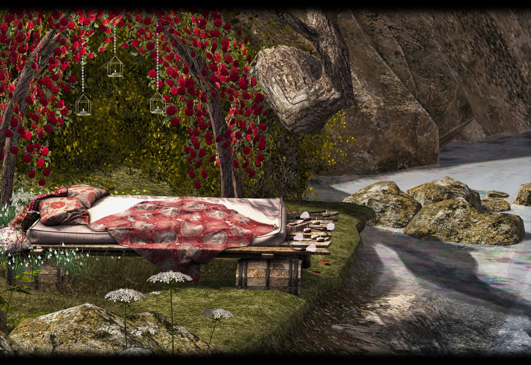 Dreamland Designs - DD Lovers Raft Bed