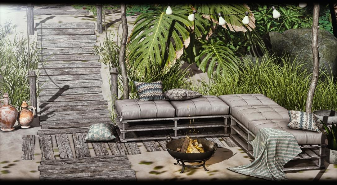 Dreamland Designs - DD Nizza Outdoor Couch
