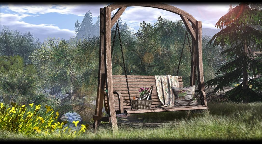 MERAK - Spring Hanging Bench 2