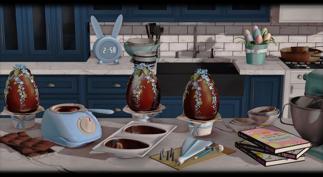 Astralia - Chocolate Easter Egg Recipe