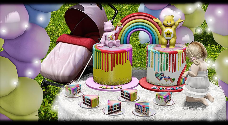 APHRODITE - Loving Bears Birthday Cake