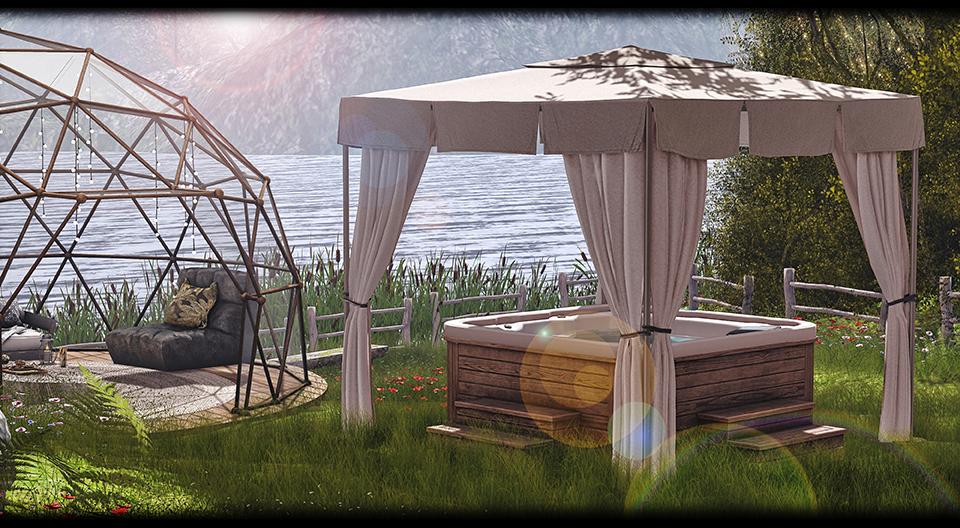 Astralia - Venus Hot Tub Set