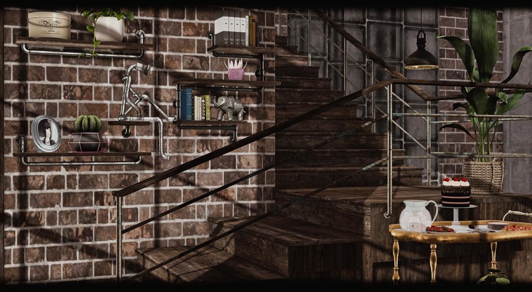 DaD - Norman Set Industrial shelf