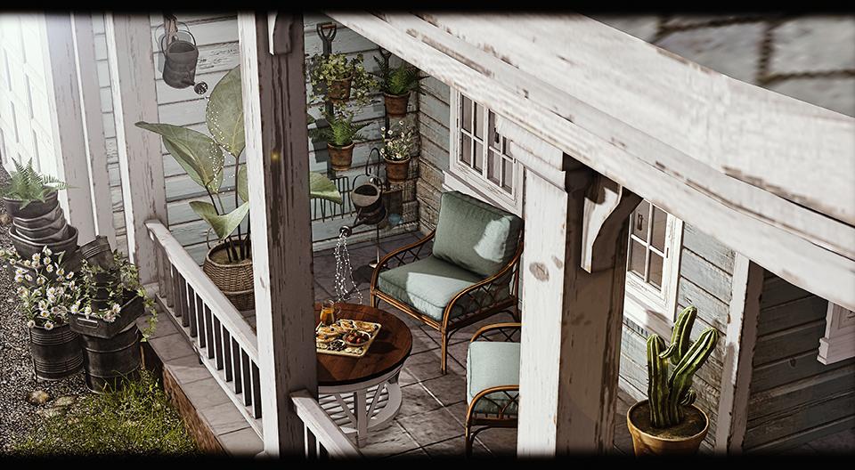 DaD - Rustic Garden
